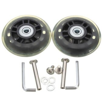 "Harga XKP 1 Pair Of Luggage Suitcase Replacement Wheels Repair Od 72 (2.83"")Id 6 Axles 40 New - intl"