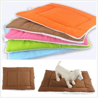 Harga M Small Medium Extra Large Pet Dog Crate Mat Kennel Cage Pad Bed Cushion Coffee - Intl