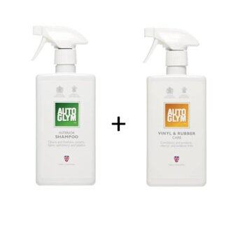 Harga Autoglym Interior Shampoo 500 ml.+ Vinyl & Rubber Care 500 ml.