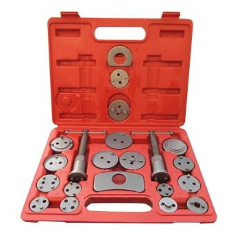 Harga Universal 21pc Disc Brake Caliper Piston Rewind Tool Kit Set Auto Wind (Black) - intl