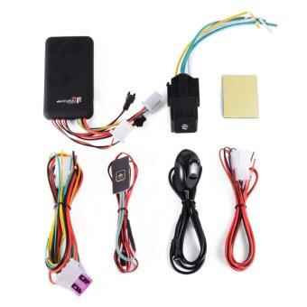 Harga Vehicle Motorcycle Car GPS/GSM/GPRS Real-time Tracker Tracking Wide-volt - intl