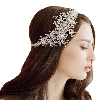 Harga Bride Handmade Crystal Ornaments Headbands