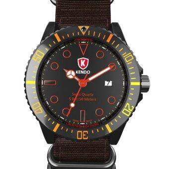 Harga Kendo Watch Trooper [Brown]
