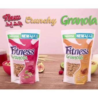 Harga กราโนล่า Nestlé Fitness Granola Oat Honey 300g + Oat Cranberry and Pumpkin seeds 300g แพ็คคู่