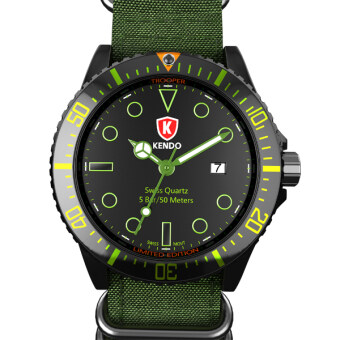 Harga Kendo Watch Trooper [Green]