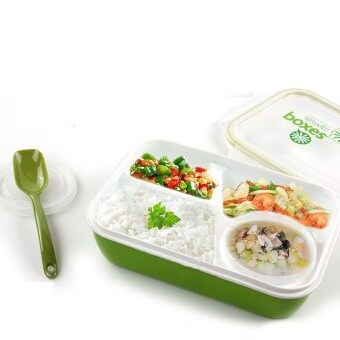Harga Kids Soup Bowl Spoon Food Picnic Container Lunch Bento Box