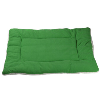 Harga new Y112GreenS Green Dog Crate Mat Kennel Cage Pad Bed Fluffy Washable Travel Pet Cat Dog Cushion