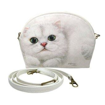 Harga Henry Cats&Friends กระเป๋าสะพาย Pouch ลาย Olivia FCP1-CA015