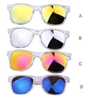Harga European And American Retro Fashion Wave Of People Men Sunglasses B - intl