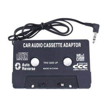 Harga Car Audio Cassette Tape Adapter Stereo Plug AUX For Mp3 MP4 Mobile Phone - intl