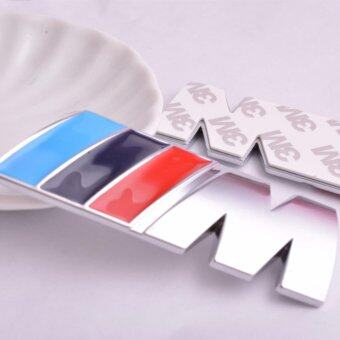Harga Car Styling 2Pcs Solid Car Sticker 3M Series Logo Emblem Badge Chrom Decal 1 3 4 5 6 7 E Z X M2 M3 M4 M5 M6 Mline For BMW M - intl