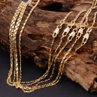 Harga Fang Fang 18K Yellow Gold Filled Necklace (Gold)