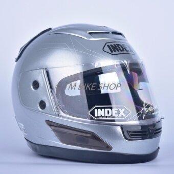 Index หมวกกันน็อค รุ่น 811 i-Shield (สีเทาอลูมินั่ม)