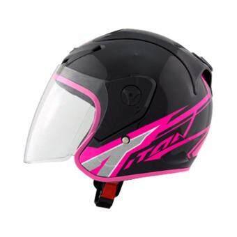 INDEX หมวกกันน็อค แบบเปิดหน้า ไม่หุ้มคาง ลิขสิทธิ์แท้ INDEX helmet รุ่น TITAN-1 (NEW 2017) รุ่นใหม่ล่าสุด ปี 2017