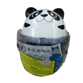 INDEX หมวกกันน็อคเด็ก รุ่นzoo (สีขาว)