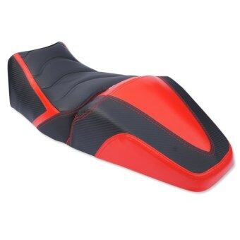 INFINITY เบาะแต่ง (2 ชิ้น) สำหรับ DEMON สีแดง/ดำ (ไม่สามารถใช้กับรถรุ่นอื่นได้)