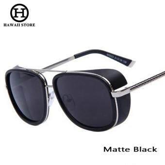 IRON MAN 3 Matsuda TONY Steampunk Sunglasses Men Mirrored Designer Brand Glasses Vintage Sports Sun glasses - Intl