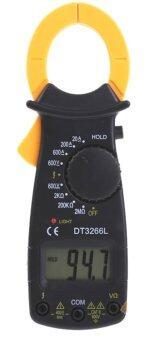 ITandHome เครื่องวัดแรงดันและกระแสไฟฟ้า มัลติมิเตอร์ DigitalMultimeter - สีดำ (image 1)