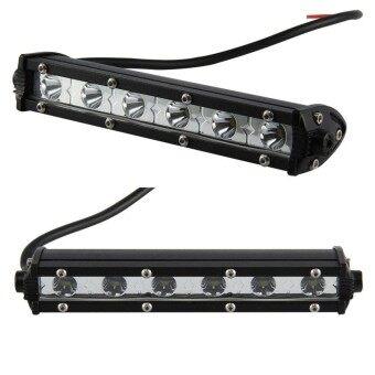 JinGle 7'' 18W Flood LED Light Work Bar Lamp Driving Fog Offroad SUV 4WD Car Boat Truck - intl