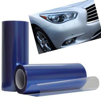 JinGle DCW Car Fog Light Headlight Taillight Tint Vinyl Film SheetSticker (Deep Blue) - 2