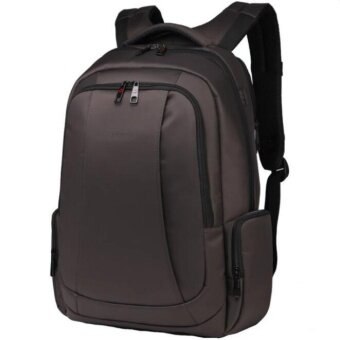 Joy Anti-theft Bag for 12-15.6 Inches Laptop Nylon WaterproofTravel Business Backpack-Brown - intl