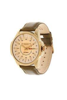 ราคา Julius Homme นาฬิกาข้อมือผู้ชาย สายหนัง สีน้ำตาล รุ่น JAH-017