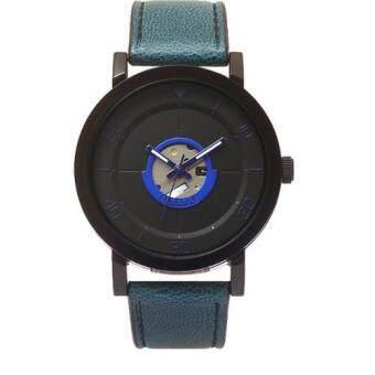 ประเทศไทย Julius Homme นาฬิกาสำหรับผู้ชาย สีน้ำเงิน สายหนัง รุ่น JAH-081(one size)
