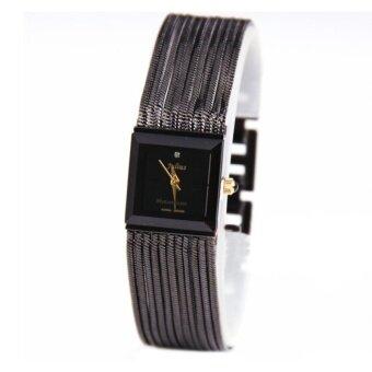 ราคา Julius นาฬิกาสำหรับผู้หญิง สายสแตเลส รุ่น JA-503 (สีดำ)