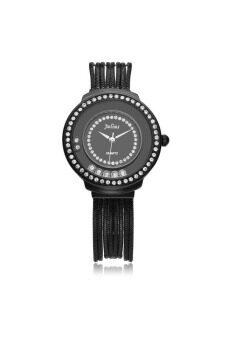 2561 Julius นาฬิกาสำหรับผู้หญิง สีดำ สายสแตนเลส รุ่น JA-613