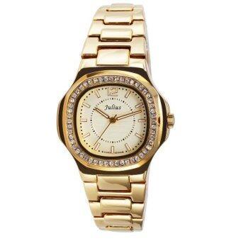ราคา Julius นาฬิกาผู้หญิง รุ่น JA-711 สแตนเลส สีทอง
