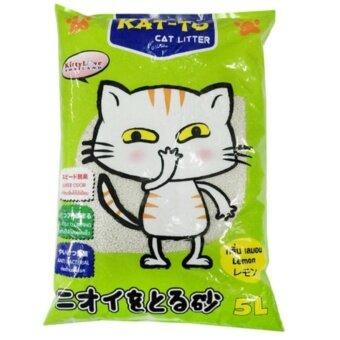KAT-TO ทรายแมว 5L กลิ่นมะนาว ( 1 units )