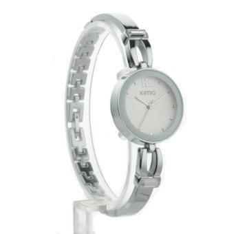 Kimio นาฬิกาข้อมือผู้หญิง สายสแตนเลส รุ่น K466 - สีเงิน รีวิว