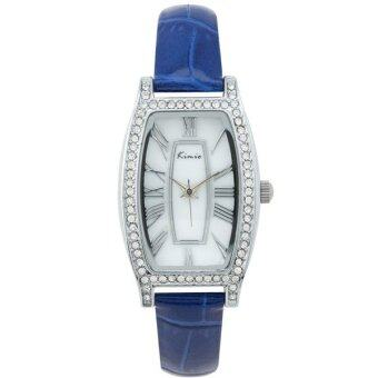 Kimio นาฬิกาข้อมือผู้หญิง สีน้ำเงิน สายหนัง รุ่น KW516S-S0108 รีวิว
