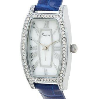 Kimio นาฬิกาข้อมือผู้หญิง สีน้ำเงิน สายหนัง รุ่น KW516S-S0108 ดีไหม