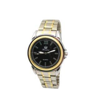 ประเทศไทย Kratree นาฬิกาผู้ชายขอบทอง สายสแตนเลสสีเงิน