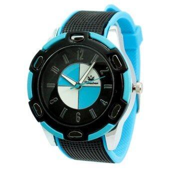 ราคา Kratree นาฬิกาข้อมือ สีฟ้า สายยาง