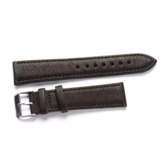 ซื้อ/ขาย สายนาฬิกา สายหนัง สำหรับ นาฬิกา Leather Classic Black 20mm สายหนังนาฬิกา สีดำคลาสสิค