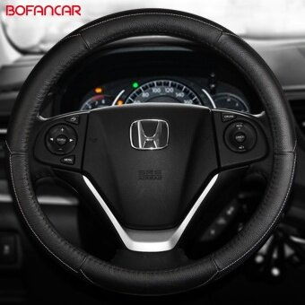 Leather steering wheel covers, applies, Honda platinum farce,accord, Odyssey, CRV, HRV, XRV, song poem figure, ling - intl