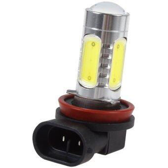 LED หลอดไฟ รถยนต์ H11 COB 4 LED Daylight (1 ชิ้น)
