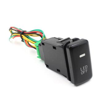 Led โคมไฟรถอุปกรณ์ตัดหมอกบนสวิตช์กุญแจสำหรับ Toyota รถตู้