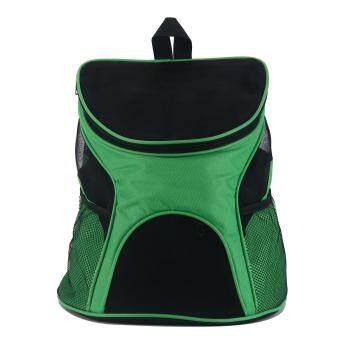 เปรียบเทียบราคา Leegoalสัตว์เลี้ยงสุนัขแมวขนนุ่มด้านในกระเป๋าเป้กลางแจ้งสำหรับสุนัขและแมวสีเขียว