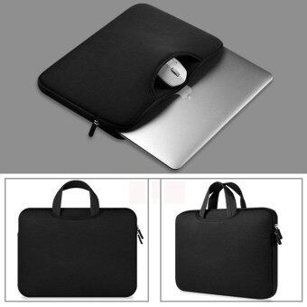 leegoal Portable Solid Color Waterproof Notebook Bag 13 Inch - intl