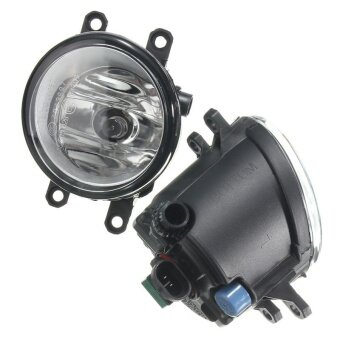 Left + Right Fog Light Lamps & H11 Bulbs For Toyota Camry Corolla Yaris Lexus - intl