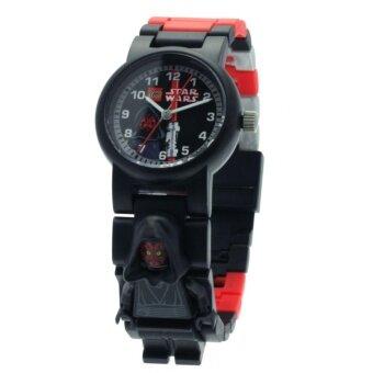 ราคา Lego นาฬิกาข้อมือเด็ก STAR WARS รุ่น 8020028 - Black รับประกัน 1 ปี ของแท้