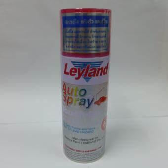 Leyland auto spray สีสเปรย์ใส สีแดง (P-7) SUZUKI แคนดี้โทนเนื้อสีใส แสงผ่านได้ แห้งเร็ว เนื้อสีใส สำหรับงานพ่นซ่อมรถยนต์จักรยาน จักรยานยนต์ ฝาครอบไฟเลี้ยว ไฟท้าย กระจก พลาสติก หมวกกันน๊อคและอื่นๆ