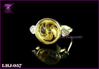เสนอราคา LH Fashion แหวนกังหันลมนำโชค แชกงหมิว ไซน์ 59 LHJ-057