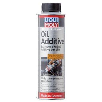 Liqui Moly Oil Additive หัวเชื้อน้ำมันเครื่อง สารเคลือบเครื่องยนต์ สำหรับเครื่องยนต์ทั้งเบนซินและดีเซล (300 mL)