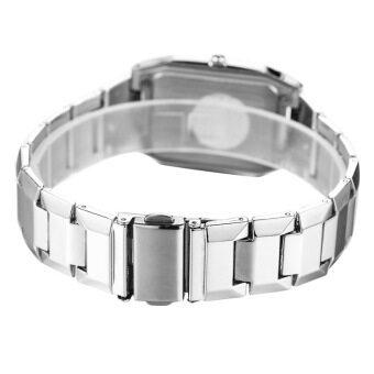 LONGBO 867 Amps คนรักกีฬาสีผสมรัดนาฬิกาควอทซ์ธุรกิจนาฬิกาข้อมือขาว (image 3)
