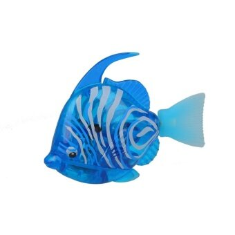 Luminous Electron Fish Robots Swimming Power-Driven AquariumDecoration - intl