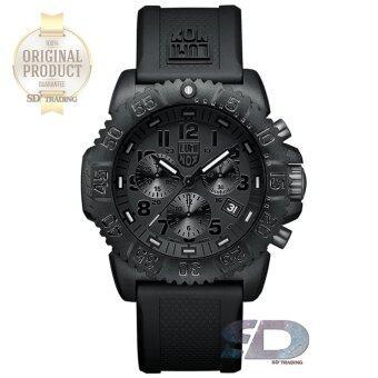 LUMINOX \รับประกันศูนย์ 2ปี\Man Watch (NAVY SEAL COLORMARK CHRONO 3080 SERIES) รุ่น 3081.BO - Black Out
